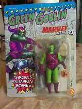Green Goblin Marvel Super Heroes on original card. 1991 Throws Pumpkin Bombs