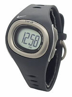 Nike Triax HRM C3 SM0013 Anthracite Black Silicone Heart Rate Monitor Watch