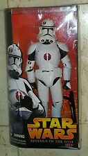 Star Wars CLONE TROOPER 12 Inch FIGURE by Hasbro REVENGE OF THE SITH *NEW*