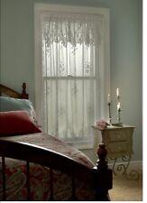 """Heritage lace Tea Rose Panel- 60""""x63"""" drop. Floral-Ecru"""