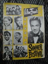ALAN FREED EASTER JUBILEE OF STARS PROGRAM- FRANKIE LYMON-WITH AUTOGRAPHS!