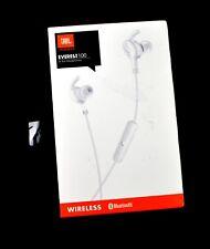JBL EVEREST 100 In Ear 4.1 Bluetooth Headphones White USED JL279