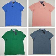 NWT Men's Tommy Hilfiger Short-Sleeve THFlex Mesh Polo Shirt Slim Fit S - XXL