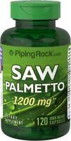 Palmier Nain, Saw Palmetto 1200 mg, 120 Gélules, Serenoa repens