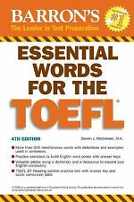 Essential Words for the TOEFL (Essential Words for the Toefl)