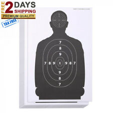 "Premium 50Pack Paper Silhouette Range Shooting Targets 25x17"" Firearms Rifles"