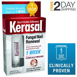 Kerasal Fungal Nail Renewal Treatment Fungus Toe Toenails Improvement Cure Care