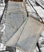 Helmut Lang Women's Light Wash Slim Skinny Jeans Size 30 High Waist