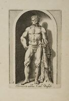 PHILIPPE Tomassin (Troyes 1562-Rom 1622), Herkules a.d.Sammlung Borghese, 1611