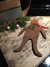 Primitive  Handmade Gingerbread Man