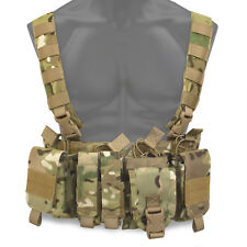 Bulldog Kinetic Military Army Tactical MOLLE Chest Rig Harness Vest Carrier MTP