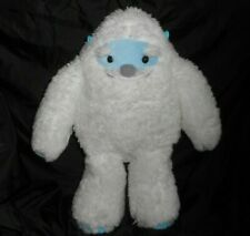 "15"" Aurora Yeti Yulli Abominable Snowman White Stuffed Animal Plush Toy Lovey"