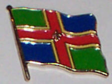 Lincolnshire England County Flag Enamel Pin Badge