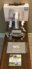 Nintendo White Wii Console Complete In Box Bundle W/ Wii Sports & 1 Controller