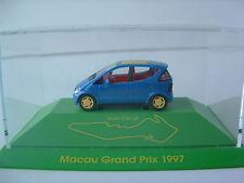"""Herpa 1/87 H0 Mercedes Benz A-Klasse """"Macau Grand Prix 1997"""" OVP B423"""