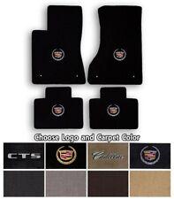 Cadillac CTS 4pc Classic Loop Carpet Floor Mats-Choice of Carpet Color & Logo