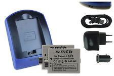 2 Batteries + Chargeur USB LP-E5 pour Canon EOS 450D, 500D, 1000D