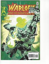 WARLOCK AND THE INFINITY WATCH #41 Marvel Comic 1st First Print Near Mint to NM+