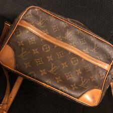 🌺LOUIS VUITTON Compiegne 28 Brown/Tan LV bag PVC