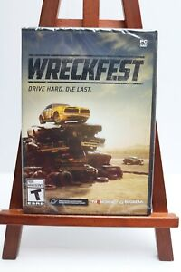 🔥 Wreckfest Drive Hard Die Last PC DVD ROM Computer Game New | Sealed
