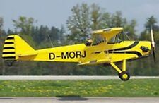 Dallach D.3 Sunwheel Aerobatic Airplane Handcrafted Wood Model Regular New