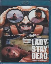LADY STAY DEAD cult *CODE RED BLU-RAY NEW* maniac *SLEAZY SERIAL KILLER SLASHER*