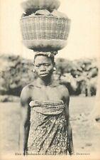 DAHOMEY une marchande Akassa Zagnanavo COTONOU