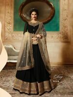 Indian Pakistani Bollywood Designer Anarkali Salwar Kameez Suit Party Wear FM