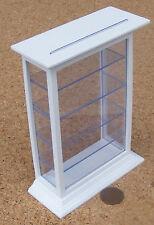 Échelle 1:12 Grand peint en blanc Shop Counter vitrine maison de poupées 462