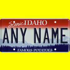 1/43-1/5 scale custom license plate set any brand RC/model car - Idaho tags