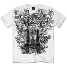 Avenged Sevenfold A7X Land of Cain Official Tee T-Shirt Mens Unisex