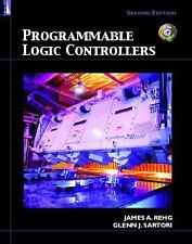 NEW Programmable Logic Controllers [With CDROM] by James A. Rehg Hardcover Book