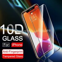 Tempered Glass SCREEN PROTECTOR iPhone 12  X, XR, XS, 11 PRO MAX SE 2 FULL COVER