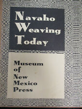 Navaho Weaving Today Museum of New Mexico Press 48389