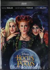 Hocus Pocus DVD Halloween Classic Bette Midler Sarah Jessica Parker Disney NEW