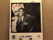 "ORIGINAL KID CAPRI AUTOGRAPHED 8X10"" PICTURE FROM 1996"