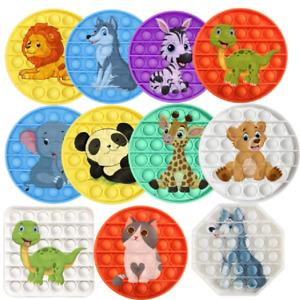 Jouet Anti Stress Fidget Bubble Push Main Pop Enfant Kids Toy Sensoriel Animaux