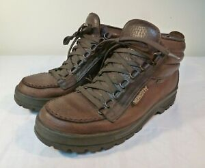 Mephisto Ankle Boots Women's Brown Leather Gore-Tex Waterproof - US 9.5
