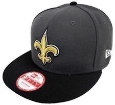 New Era NFL Orleans Saints Grafito GORRA SNAPBACK S M 9fifty Limitado Edición