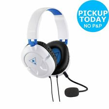 Turtle Beach Recon 50P PS4/Xbox One/PC Wired Gaming Headset - White.