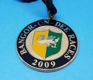 Bangor on Dee Horse Racing Members Badge - 2009