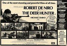 24/2/79Pn41 Advert: Emi Films Present Robert De Niro the Deer Hunter 7x11