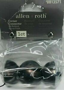 Allen + Roth Corner Connector Oil-Rubbed Bronze Finish 0813571