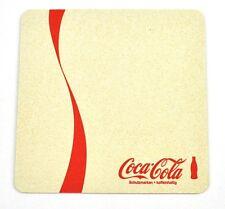 COCA-COLA COKE Dessous-de-verre Dessous De Verre coaster Germany blanc - Rouge