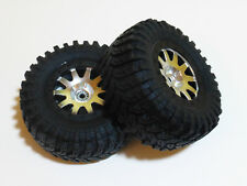 HPI Blitz 1/10 SC Maxxis 2 Räder / Set aus Reifen #H103337 + Felge #H106200, NEU