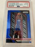 2018-19 Shai Gilgeous Alexander BLUE Fast Break Prizm /175 RC Rookie PSA 10 📈🔥