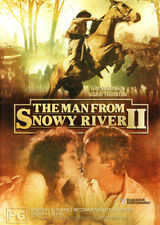 The Man from Snowy River II NEW DVD Brian Dennehy Tom Burlinson Sigrid Thornton
