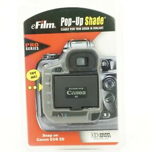 eFilm Pop-Up Shade Pro Series for Canon EOS 5D DSLR
