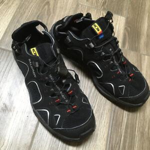 Salomon Techamphibian 3 Herren Wander Schuhe Sandalen Gr. EU 41 1/3  42 schwarz
