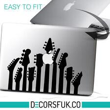 "Guitarras MacBook 13 ""Etiquetas de vinilo | Laptop Sticker | Macbook Music Pegatina"
